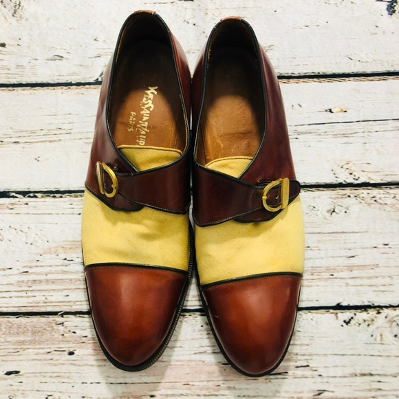 62cdecf60e Vintage YSL men's Oxford shoes